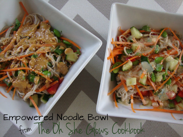 Empowered Noodle Bowl -- Epicurean Vegan