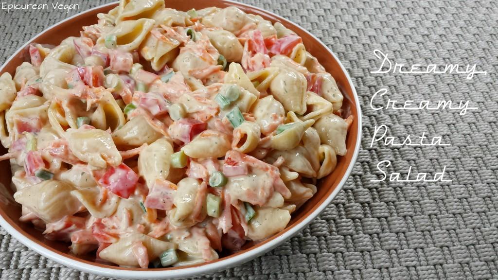 Dreamy, Creamy Pasta Salad -- Epicurean Vegan