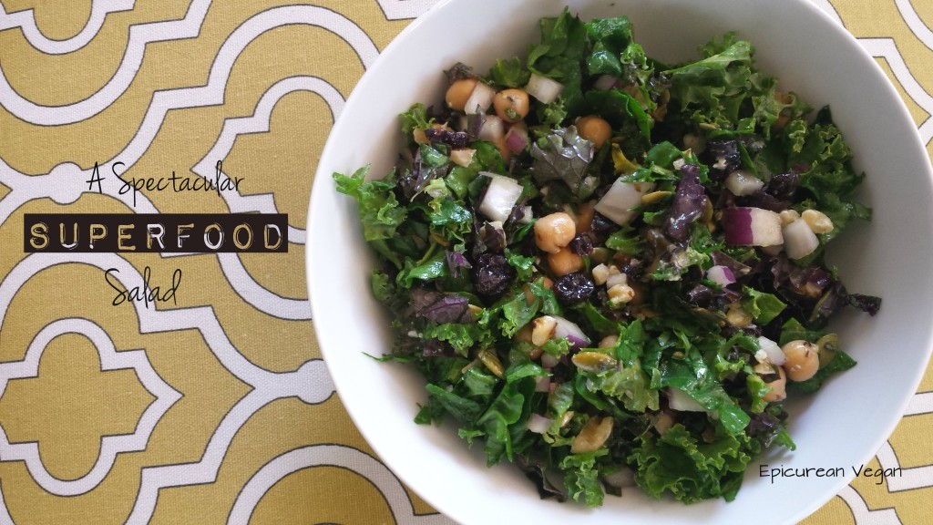 A Spectacular Superfood Salad -- Epicurean Vegan