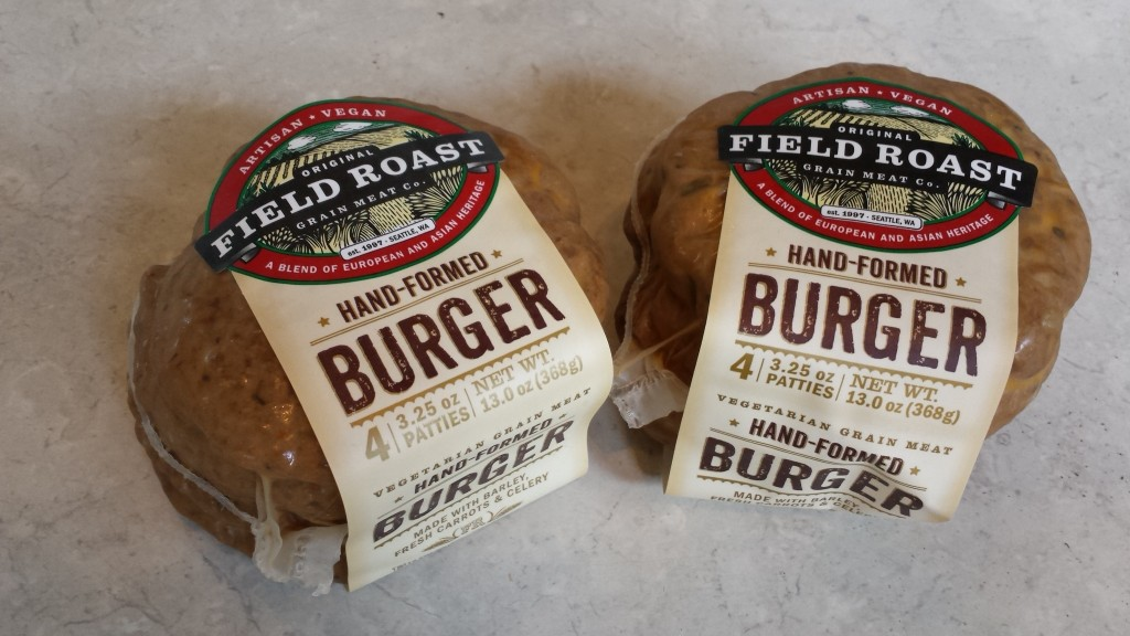 Field Roast Hand-Formed Burgers -- Epicurean Vegan