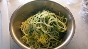 Zucchini Noodles with a Macadamia Nut Cream Sauce -- Epicurean Vegan
