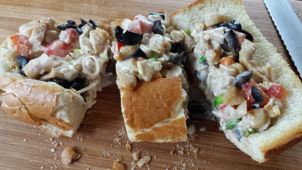 Open-Faced Chick'n Sandwich -- Epicurean Vegan