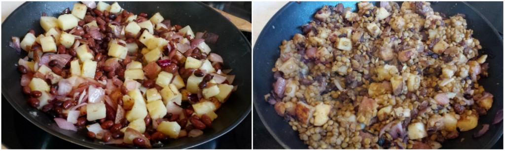 Potato, Bean and Lentil Burritos with Cashew-Curry Sauce -- Epicurean Vegan