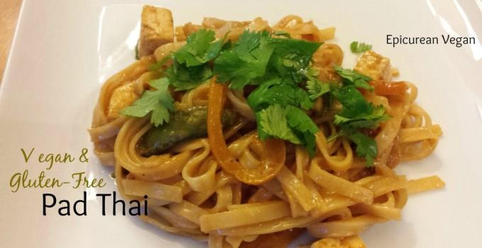 Vegan & Gluten-Free Pad Thai