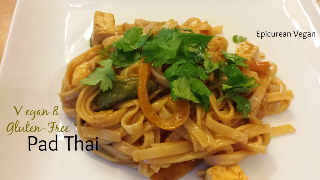 Vegan and Gluten-Free Pad Thai -- Epicurean Vegan
