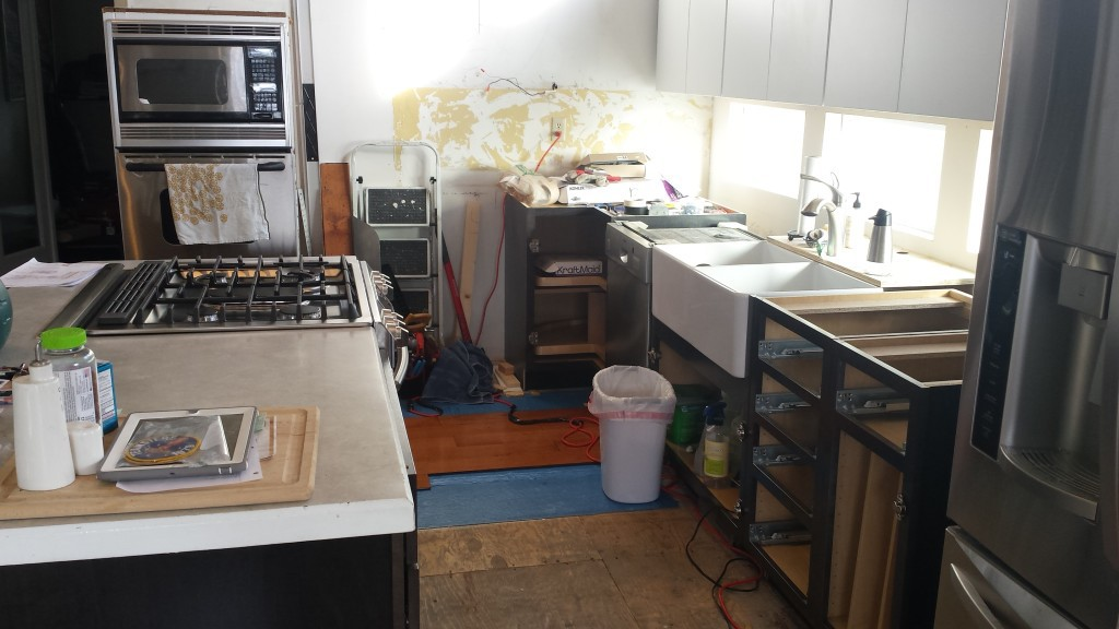 Kitchen remodel -- Epicurean Vegan