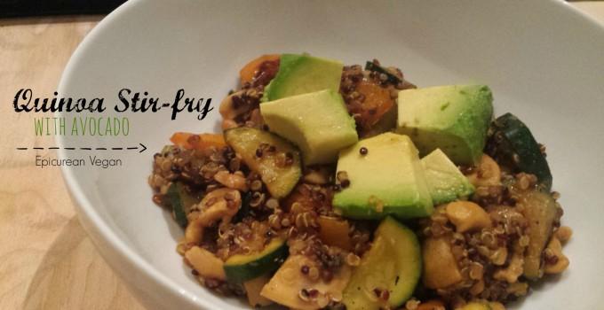 Quinoa Stir-fry with Avocado