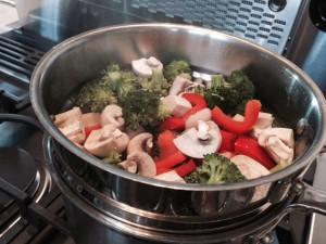Cashew-Curry Noodle Bowl -- Epicurean Vegan