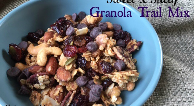 Sweet & Salty Granola Trail Mix