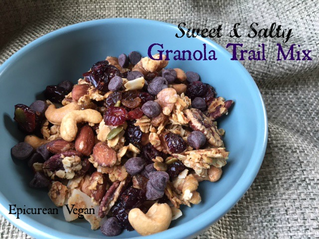 Sweet and Salty Granola Trail Mix -- Epicurean Vegan