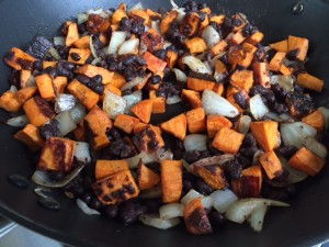 Sweet Potato, Black Bean, and Kale Tacos -- Epicurean Vegan