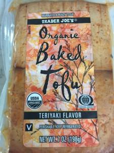 Baked Tofu, Trader Joe's
