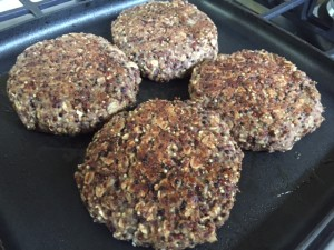 Teriyaki-Quinoa Burgers -- Epicurean Vegan