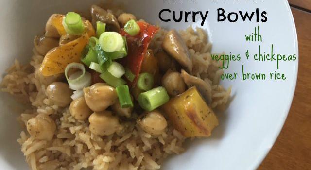 Thai Green Curry Bowls