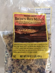 Trader Joe's Brown Rice Medley -- Epicurean Vegan