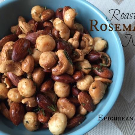 Roasted Rosemary Nuts -- Epicurean Vegan