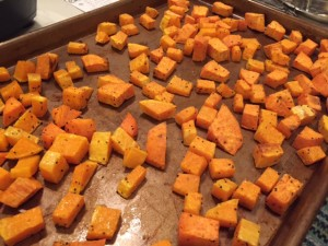 Roasted Butternut Squash and Sweet Potato Pasta -- Epicurean Vegan