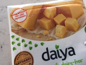 Daiya-- 65% less packaging