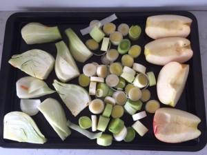 Roasted Sweet Potato, Apple and Fennel Soup -- Epicurean Vegan