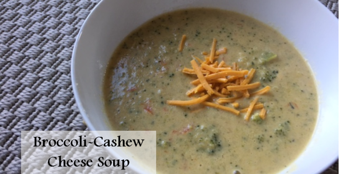 Broccoli-Cashew Cheese Soup