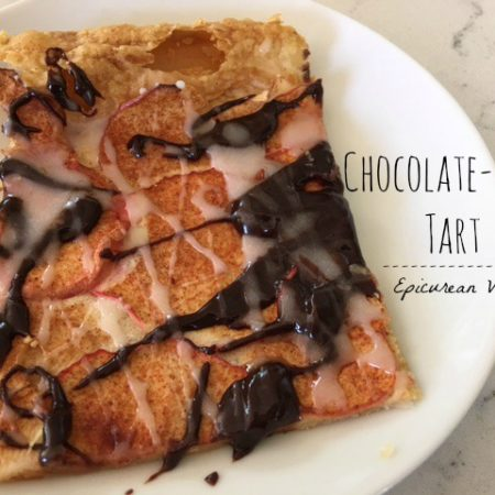 Chocolate-Apple Tart -- Epicurean Vegan