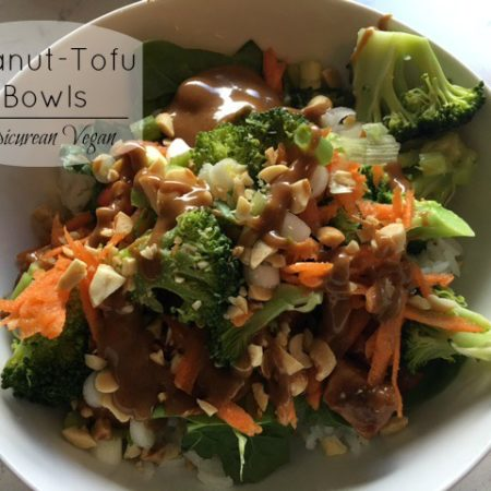 Peanut-Tofu Bowls -- Epicurean Vegan