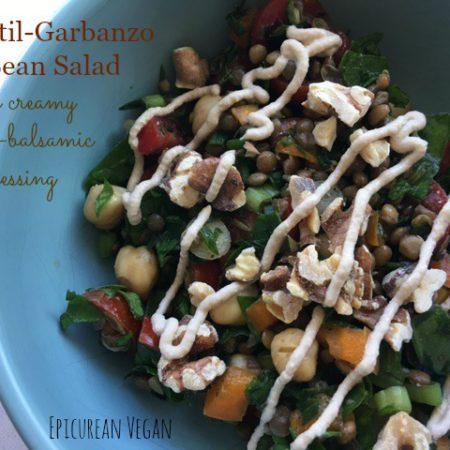 lentil-garbanzo-bean-salad-with-creamy-garlic-balsamic-dressing-epicurean-vegan
