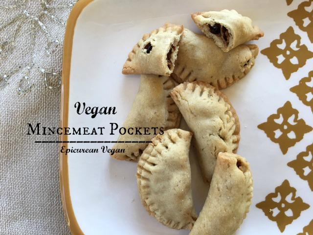 Vegan Mincemeat Pockets -- Epicurean Vegan