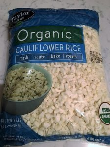 Cauliflower Fried Rice -- Epicurean Vegan
