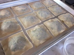 Spinach Ravioli with Lemon-Cashew Cream -- Epicurean Vegan