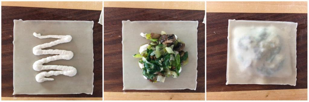 Spinach Ravioli with Lemon-Cashew Cream -- Epicurean Vegan