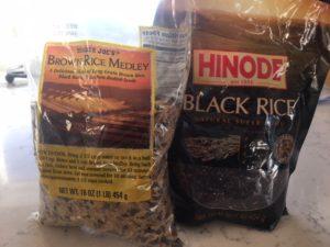 Black Rice Salad with Craisins and Shiitakes -- Epicurean Vegan